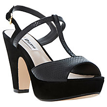 Buy Dune Flo Suede Stiletto Sandals Online at johnlewis.com