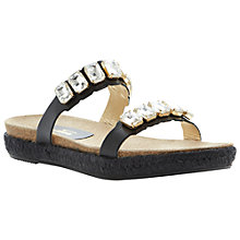 Buy Dune Black Lambert Leather Sandals Online at johnlewis.com