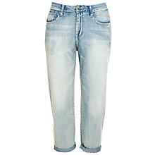 "Buy Dr Denim My Boy 30"", Super Light Aged Blue Online at johnlewis.com"