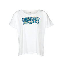 Buy Levi's Batwing Rock T-shirt, White Online at johnlewis.com