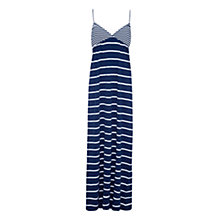 Buy Rampant Sporting Strappy Maxi Dress, Dark Denim Online at johnlewis.com
