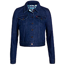Buy Levi's Authentic Trucker Jacket, Blue Online at johnlewis.com