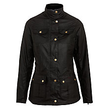 Buy Barbour Utilities Wax Jacket Online at johnlewis.com