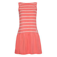 Buy Rampant Sporting Jersey Stripe Dress, Salmon Rose Online at johnlewis.com