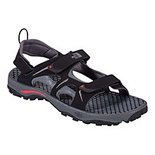 Buy The North Face Men's Hedgehog Sandal, TNF Black/TNF Red Online at johnlewis.com