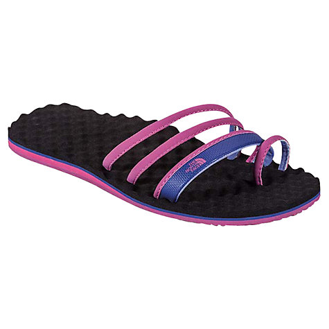 Buy The North Face Base Camp Women's Trifecta Sandal, Pink/Blue Online at johnlewis.com