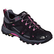 Buy The North Face Women's Hedgehog IV Gore-Tex XCR Hiking Shoe, TNF Black/Society Pink Online at johnlewis.com