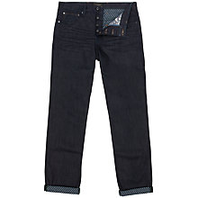 Buy Ted Baker Scotton Slim Fit Denim Jeans, Black Online at johnlewis.com