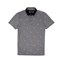 Buy Ted Baker Yaypolo Paisley Polo Shirt Online at johnlewis.com
