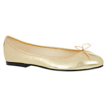 Buy French Sole India Leather Ballerinas Online at johnlewis.com