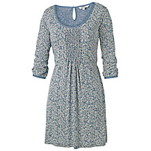 Buy Fat Face Ariel Primrose Tunic Dress, Tile Blue Online at johnlewis.com