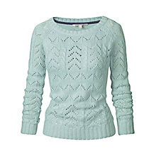 Buy Joules Cleo Cable Knit Jumper, Fresh Mint Online at johnlewis.com
