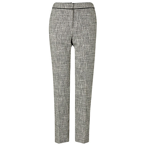 Buy L.K. Bennett Agra Tweed Trouser, Black Online at johnlewis.com