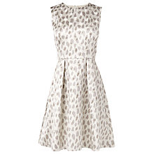 Buy L.K. Bennett Asilah Dress, Grey Online at johnlewis.com