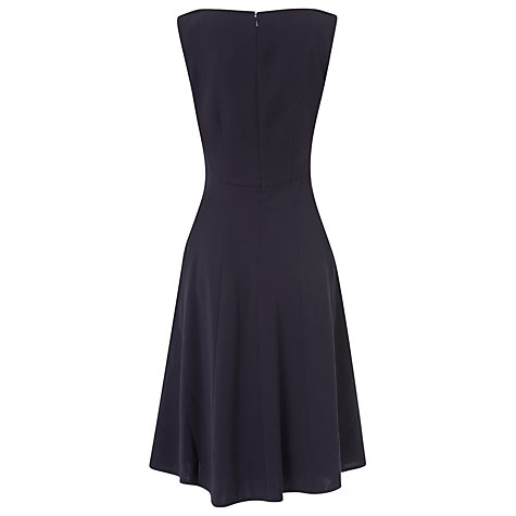 Buy L.K. Bennett Jama Dress, Navy Online at johnlewis.com