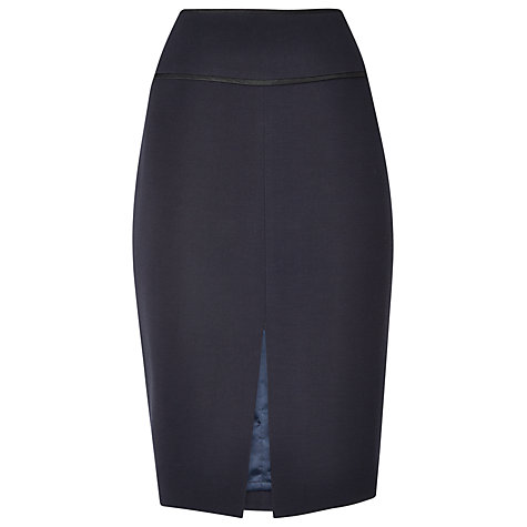 Buy L.K. Bennett Dali Pencil Skirt, Navy Online at johnlewis.com