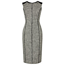 Buy L.K. Bennett Agra Tweed Dress, Black Online at johnlewis.com