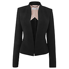 Buy L.K. Bennett Aniva Jacket, Black Online at johnlewis.com