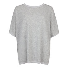 Buy Ted Baker Azami Cashmere Jumper, Light Grey Online at johnlewis.com
