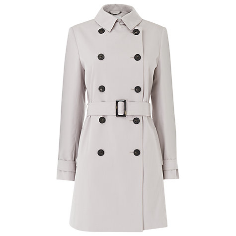 Buy L.K. Bennett Boston Trench Coat, Pebble Online at johnlewis.com