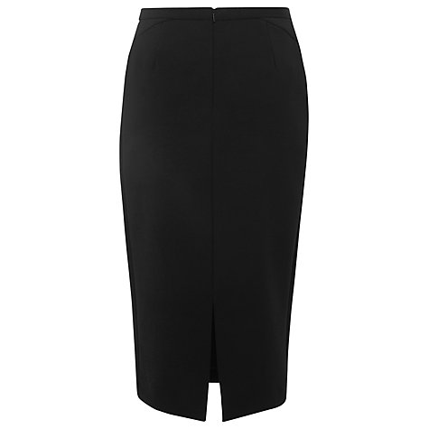 Buy L.K. Bennett Aniva Pencil Skirt, Black Online at johnlewis.com