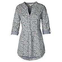 Buy Fat Face Tamara Primrose Shirt, Tile Blue Online at johnlewis.com