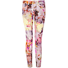 Buy Ted Baker Electric Day Jeans, Lemon Online at johnlewis.com