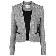 Buy L.K. Bennett Agra Jacket, Black Online at johnlewis.com
