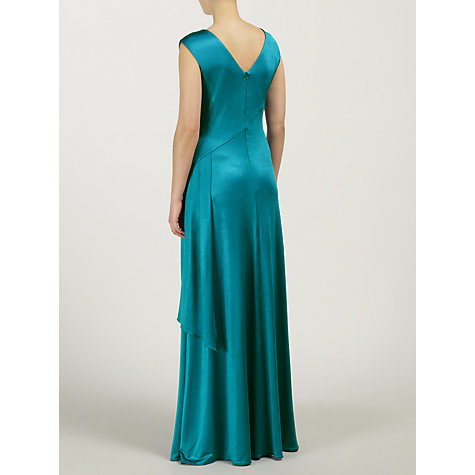 Buy Ariella Natalia Jersey Long Dress, Teal Online at johnlewis.com
