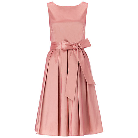 Buy Ariella Bella Taffeta Prom Dress, Dusty Pink Online at johnlewis.com