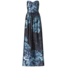 Buy Ariella Bryni Satin Maxi Dress, Blue Online at johnlewis.com
