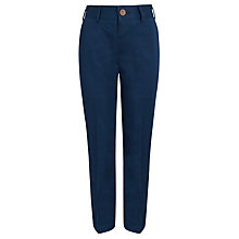 Buy John Lewis Heirloom Collection Boys' Cotton Trousers, Blue Online at johnlewis.com