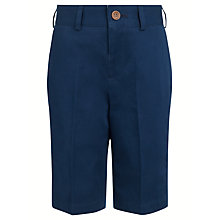 Buy John Lewis Heirloom Collection 150 Years Boys' Tailored Shorts, Blue Online at johnlewis.com