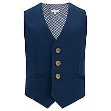 Buy John Lewis Heirloom Collection Boys' Waistcoat, Blue Online at johnlewis.com