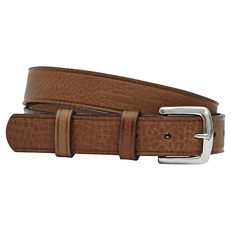 Buy Reiss Stewart Casual Belt, Tan Online at johnlewis.com