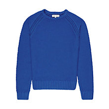 Buy Reiss Carlton Textured Crew Neck Jumper Online at johnlewis.com