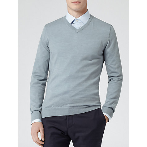 Buy Reiss Rutheford Merino V-Neck Jumper Online at johnlewis.com