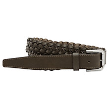 Buy Reiss Gaston Leather Belt Online at johnlewis.com