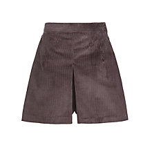 Buy School Girls' Cord Culottes, Grey Online at johnlewis.com