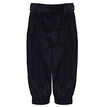 Buy Boys' Cord Breeches, Navy Online at johnlewis.com