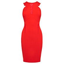 Buy Coast Fabienne Dress, Red Online at johnlewis.com