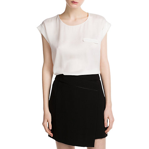 Buy Mango Decorative Pocket Blouse Online at johnlewis.com