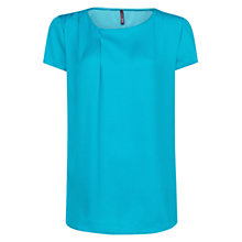 Buy Mango Puffed Sleeve Crepe Blouse Online at johnlewis.com
