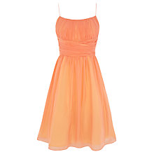 Buy Coast Chatelaine Dress, Peach Online at johnlewis.com