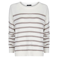 Buy Mango Striped Sweater Online at johnlewis.com