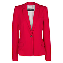 Buy Mango Jersey Blazer, Medium Pink Online at johnlewis.com