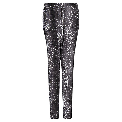 Buy Mango Baggy Trousers, Dark Grey Online at johnlewis.com