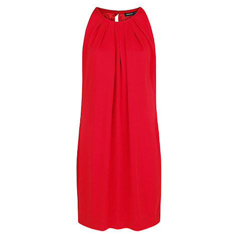 Buy Mango Back Bow Dress, Brick Red Online at johnlewis.com