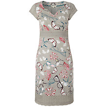 Buy White Stuff Hey Good Looking Dress, Cloud Grey Online at johnlewis.com