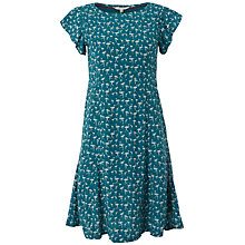 Buy White Stuff Delphine Flamingo Dress, Jewelled Jade Online at johnlewis.com